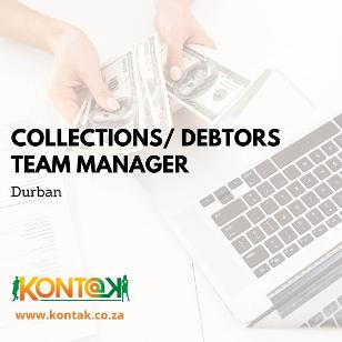 Debtors Team Manager jobs Durban