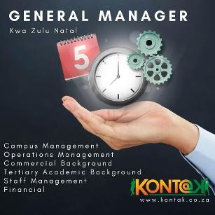 General Manager Jobs Durban