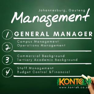 General Manager Jobs Johannesburg
