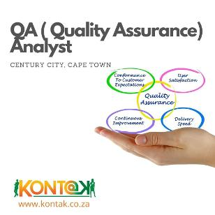 QA ( Quality Assurance) Jobs in Cape Town