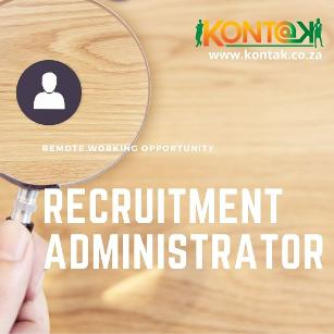 Recruitment Administrator Remote Working Opportunity