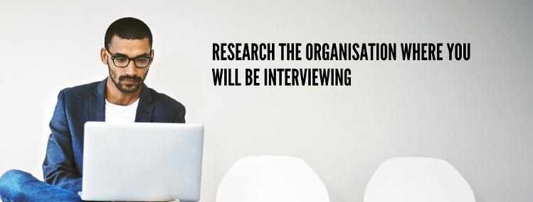 How to prepare for a job interview, research the company